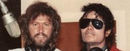 Barry Gibb z Bee Gees a Michael Jackson natočili píseň, která unikla na internet