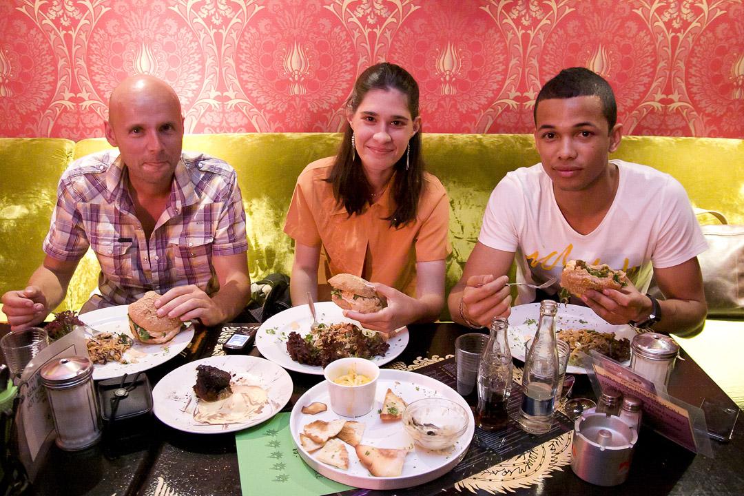 Ben Cristovao povečeřel se svojí fanynkou v klubu Radost FX