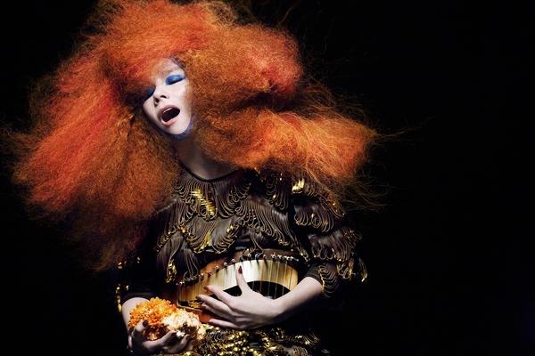 Björk na Colours Of Ostrava představí projekt Biophilia