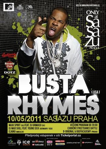 Pozor, Busta Rhymes změnil termín pražského koncertu