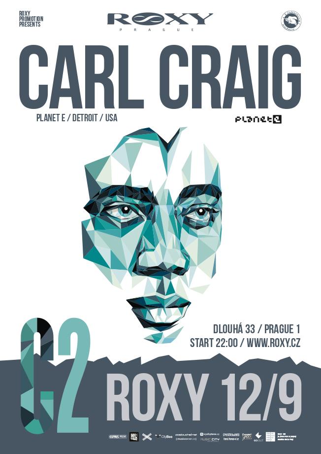 Přijíždí legenda elektroniky Carl Craig - pět důvodů, proč na něj jít