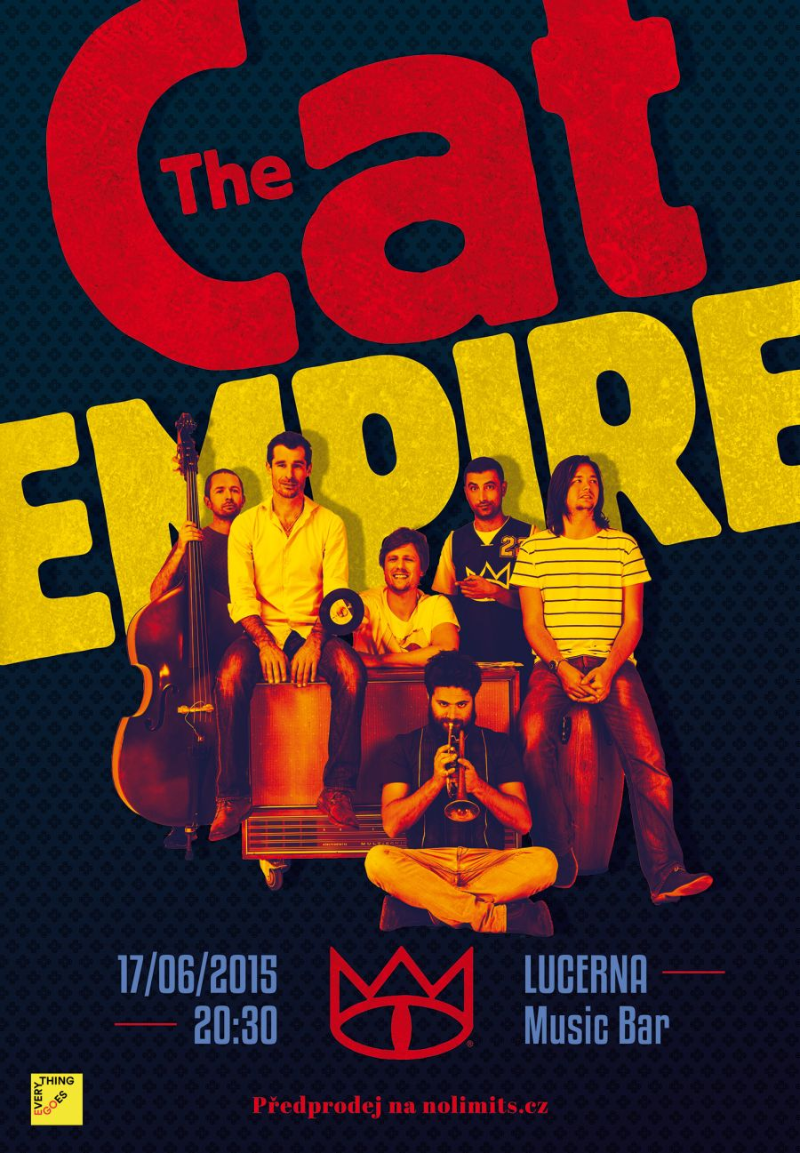 the cat empire 17 6 2015 poster small