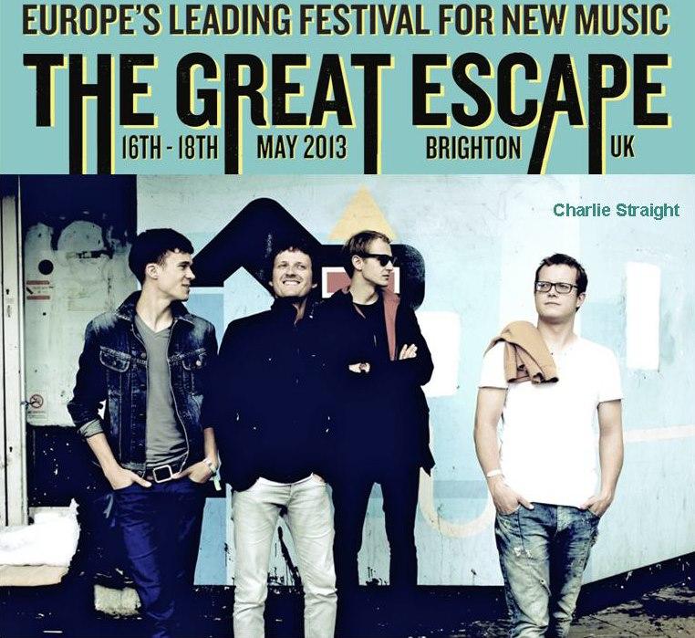 Charlie Straight míří do Evropy, zahrají na festivalu The Great Escape