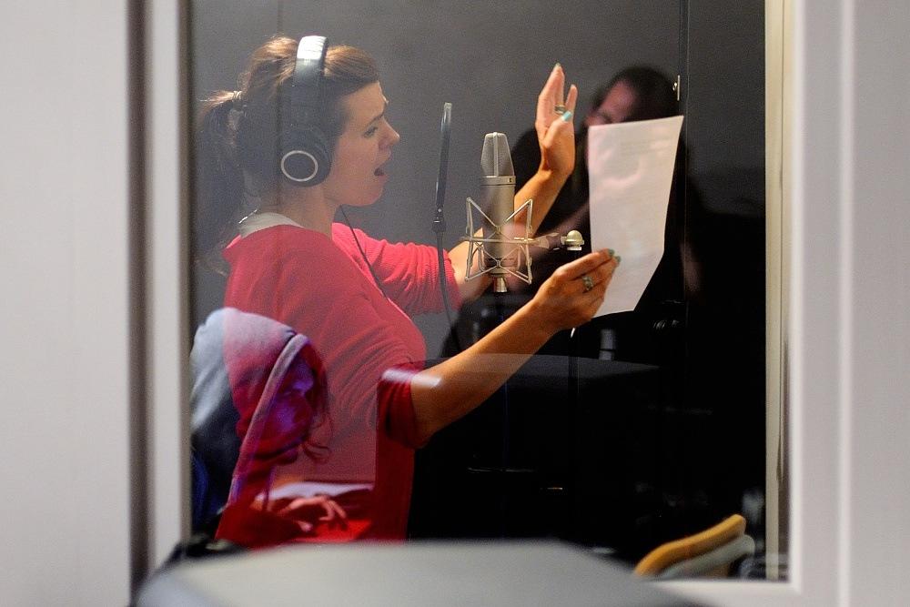 Clou nahrávali duet s Martou Jandovou: exkluzivní fotky ze studia