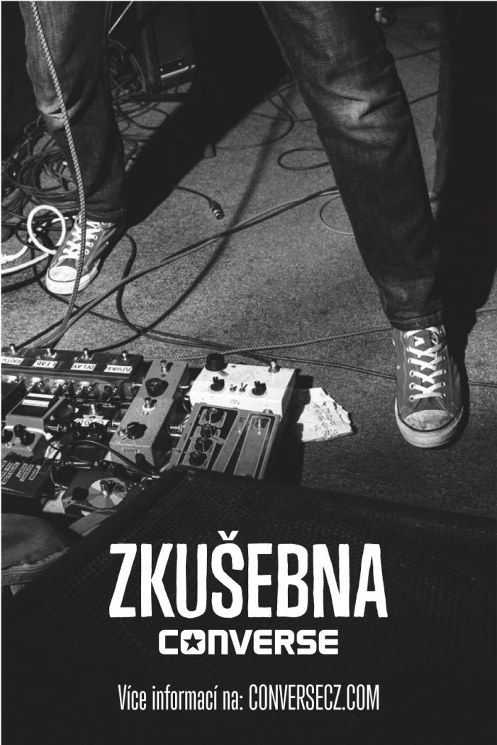 Converse zkušebna: Keep Prague Load