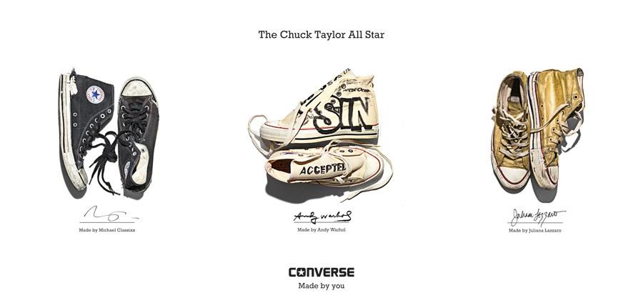 Converse vyráží za svými fanoušky s Mobile Sneakers Portrait Studio