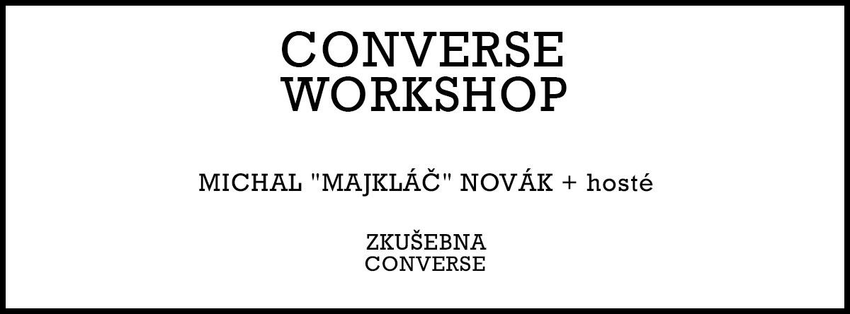 Hudební workshopy s Converse