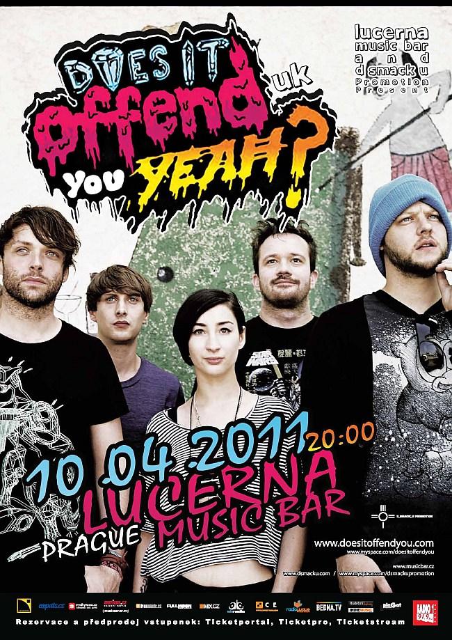 Does It Offend You, Yeah? vás varují před svým pražským koncertem, energickou show rozjedou v neděli