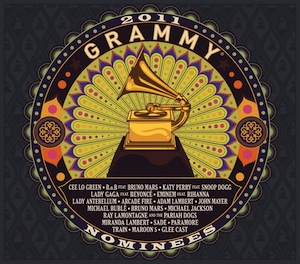 2011 grammy nominees official album cover