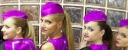 Letuška Dara Rolins na palubě přivítala nejkrásnější dívky Slovenska