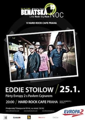 Eddie Stoilow odstartují zahřívací kolo festivalu Benátská noc