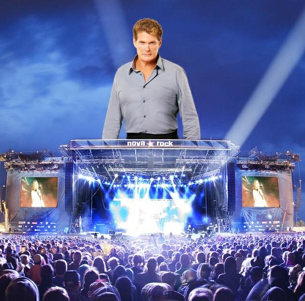 Úlet roku: Iron Maiden předkapelou Davida Hasselhoffa