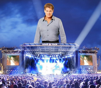 David Hasselhoff novarock TOP