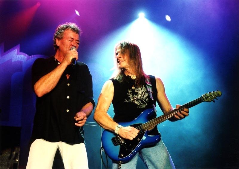 RETRO: Deep Purple v Praze v roce 1993 - Rockové hity a roztěkaný Ritchie Blackmore