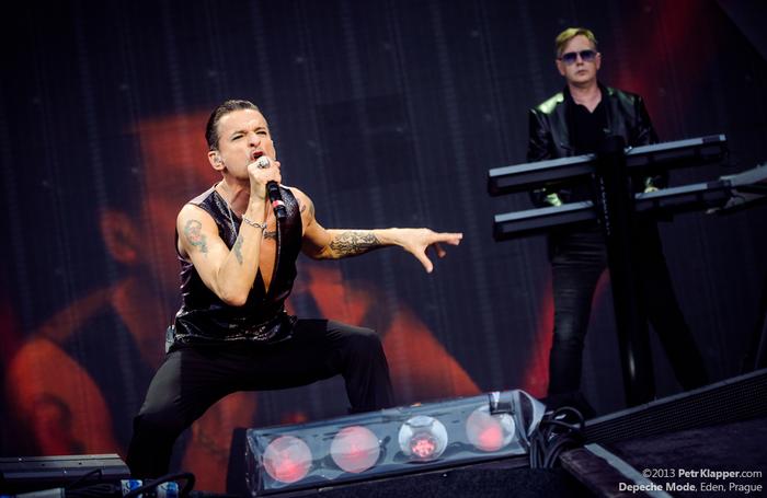 LIVE: Depeche Mode v čele s alfa- samcem představili Delta Machine