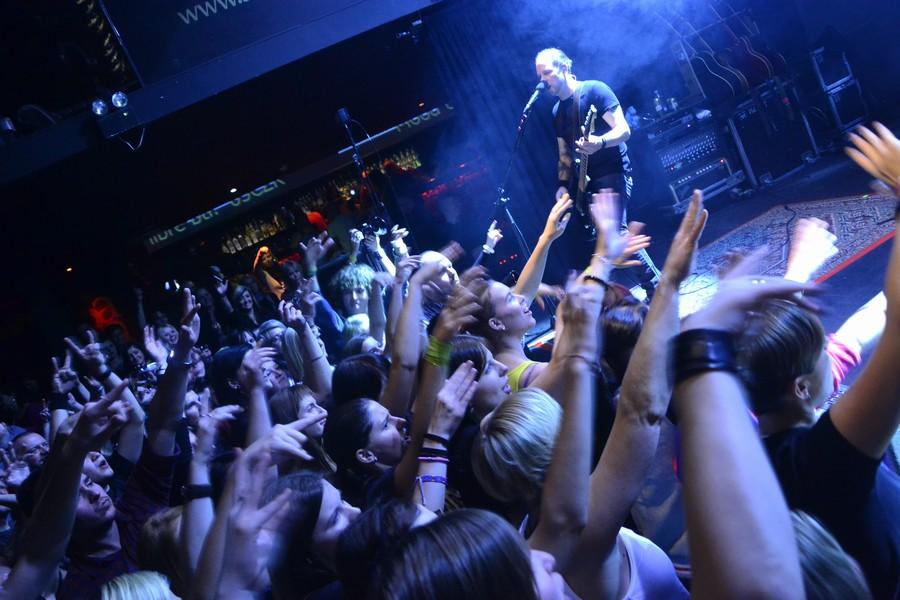 LIVE: Die Happy byli šťastní i v poloprázdném klubu
