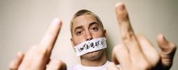 VIDEO: Eminem se vrátil ke graffiti, nadávkám a peroxidovému přelivu