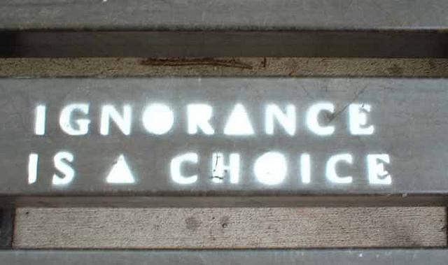 ROCKBLOG: Ignorance je tvoje volba