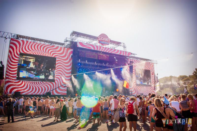 VIDEO: Sziget - extravagantní festival, za který promlouvají činy