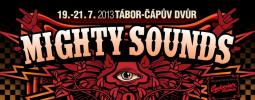 mighty sounds 2012 logotype white background