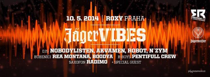 Jäger VIBES zakončí tour v Praze