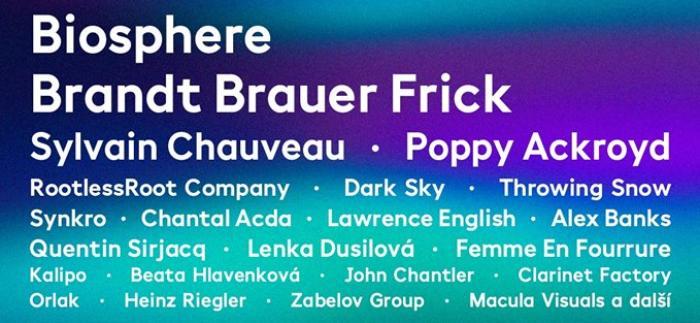 Festival Spectaculare bude s Biosphere a Poppy Ackroyd ještě barevnější