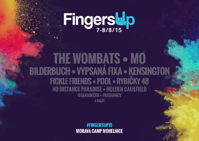 Festival Fingers Up vztyčuje prsty: dorazí The Wombats a MØ