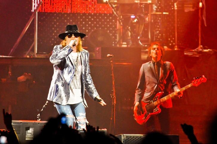 Axl Rose: Guns N' Roses mají natočené nové album