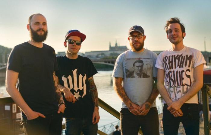 Punková kapela Hanba křtí debut Silou Kovadliny