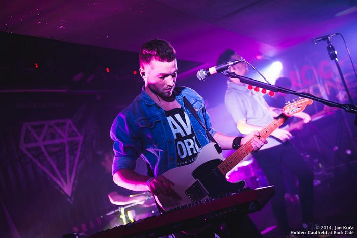 LIVE: Holden Caulfield děkovali Rock Café se slzami na krajíčku