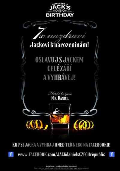 Jack Daniel slaví narozeniny a hledá sedm statečných!