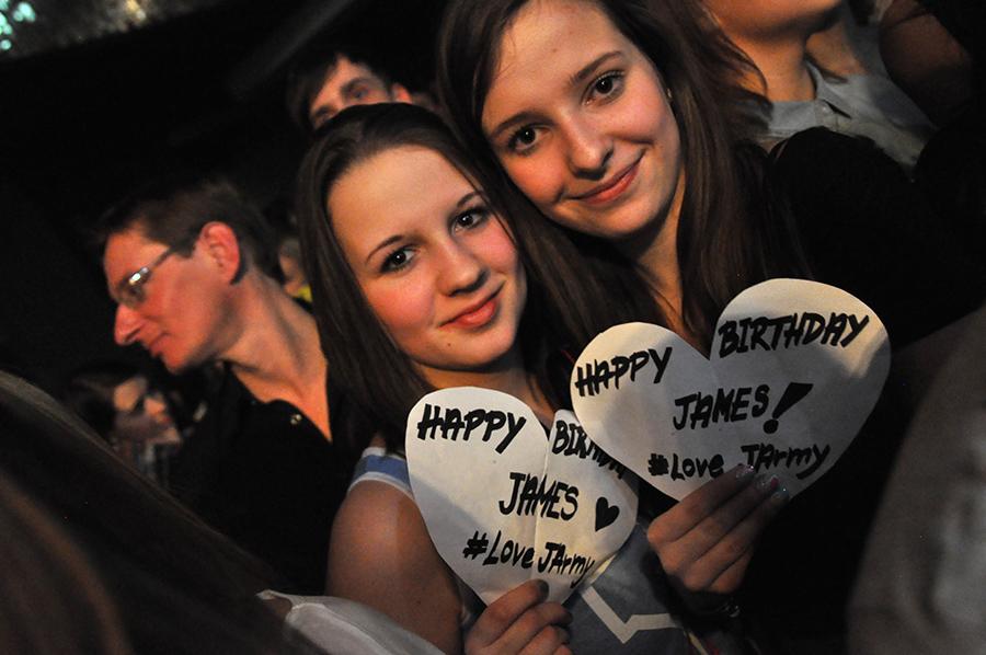 LIVE: Vaše srdce do dlaní Jamese Arthura!