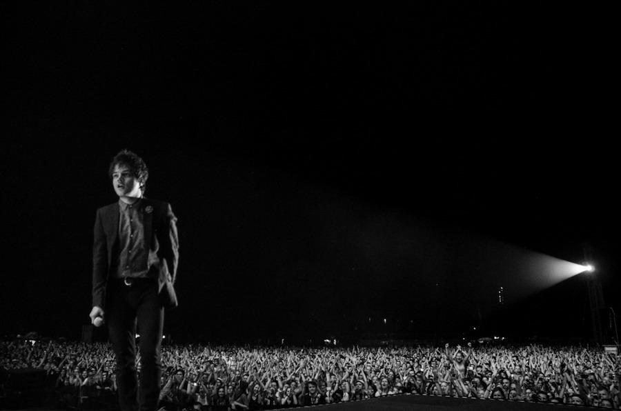 LIVE: Jamie Cullum na Colours přivítal Ostravu slovy Baník, pičo
