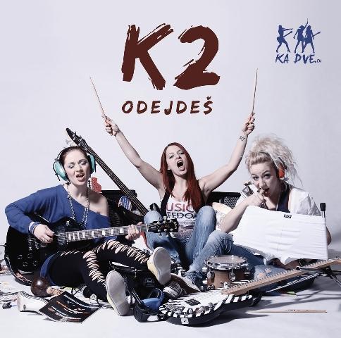 Dívčí trio K2 vydává svoje druhé album Odejdeš.