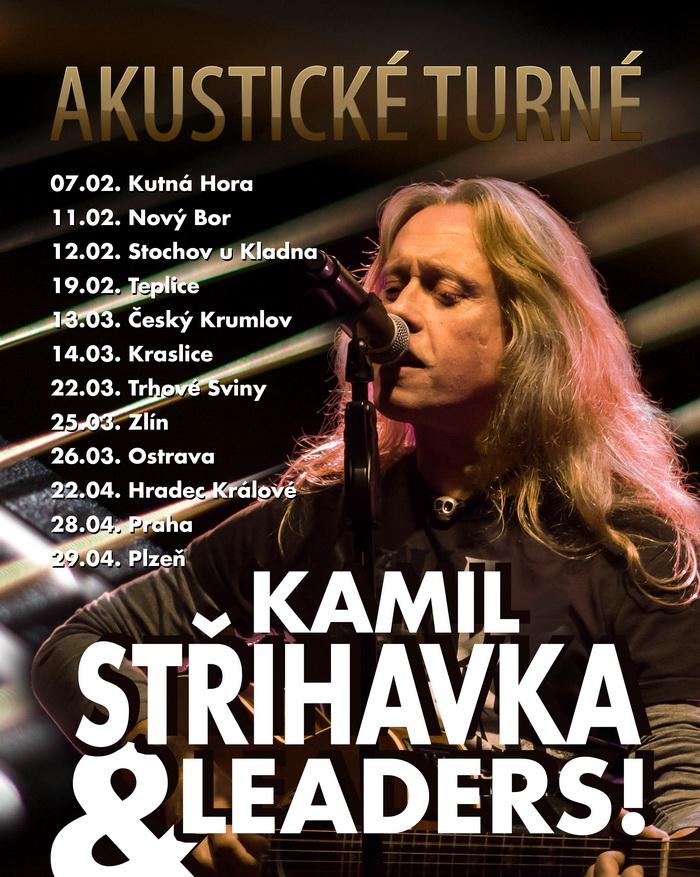 Kamil Střihavka akusticky: Jesus Christ vyráží na unplugged turné