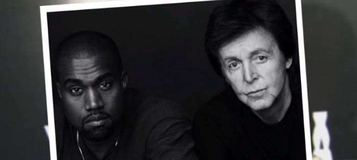 Kanye Wet Paul MCCartney