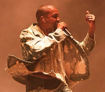 kanye west glastonbury 2015 TOP