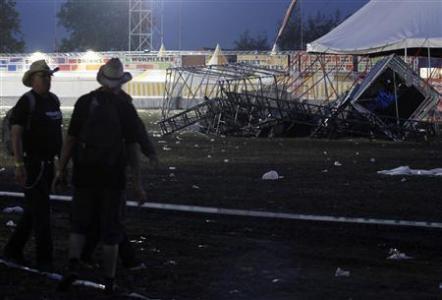 Belgický festival Pukkelpop zasáhla silná vichřice, pět lidí zemřelo