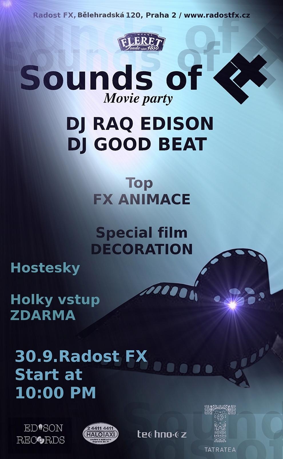 Radost FX představuje zbrusu novou párty: Sound Of FX