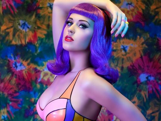 Katy Perry ovládla americké i britské žebříčky hitparád