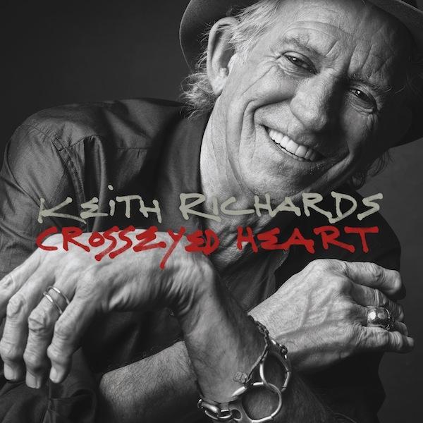 RECENZE: Keith Richards natočil desku, z níž je cítit whisky i Rolling Stones