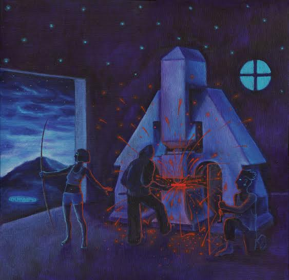 Kyklos Galaktikos pokřtí dnes v holešovickém Podniku boží album