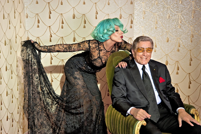 VIDEO: Lady Gaga a Tony Bennett lákájí jazzem na své koncerty