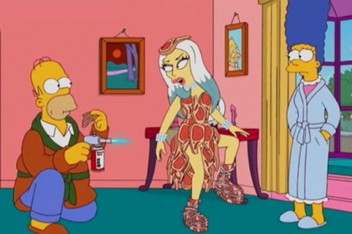lady-gaga-on-the-simpsons-500x333