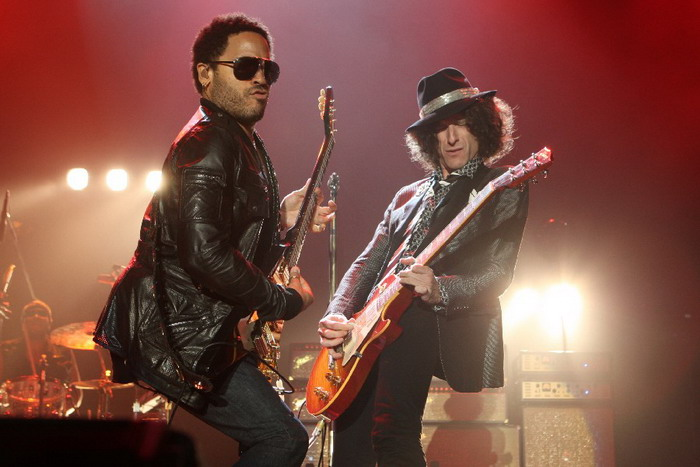 VIDEO: Lenny Kravitz před koncertem v Praze opěvuje New York