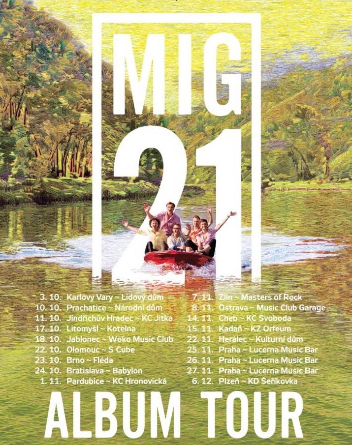 Mig 21 2014 turné vizuál TZa