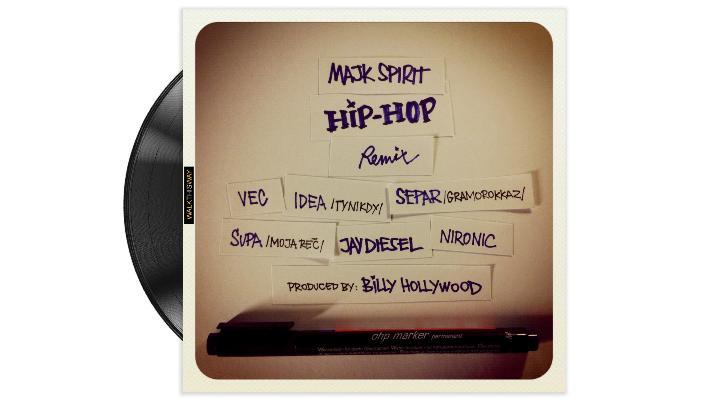 Supa, Nironic, Vec, Idea, Separ a Jay Diesel v remixu Majka Spirita