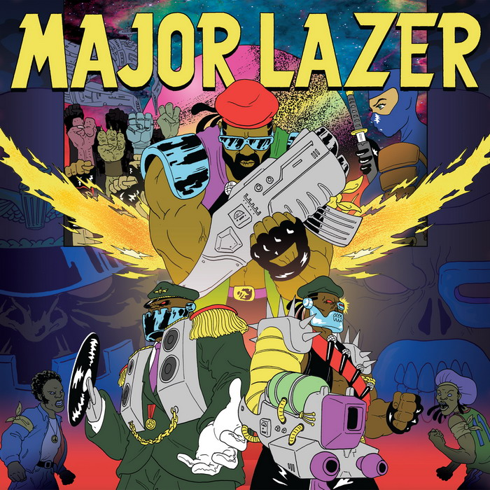 major lazer album cover