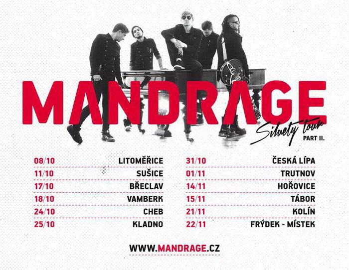 Mandrage interview: Příští rok chceme vydat nové album