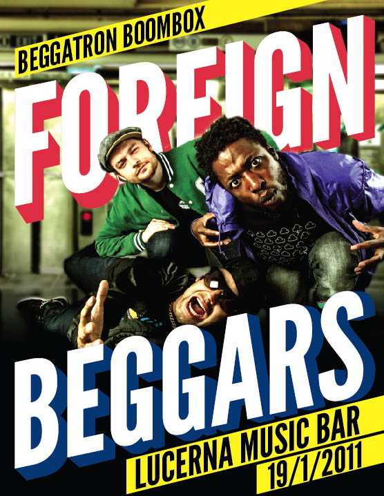 foreign beggs
